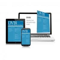 DVBl - Deutsches Verwaltungsblatt