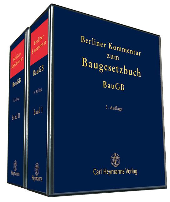 berliner kommentar zum baugesetzbuch baugb 3 auflage. Black Bedroom Furniture Sets. Home Design Ideas