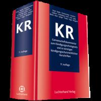 KR - Gemeinschaftskommentar zum Kündigungsschutzgesetz und zu sonstigen kündigungsschutzrechtlichen