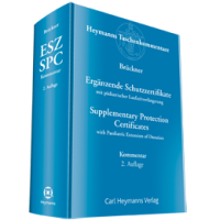 Ergänzende Schutzzertifikate / Supplementary Protection Certificates